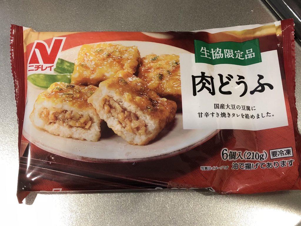 ニチレイ肉豆腐